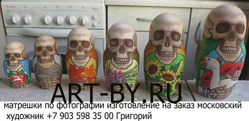 хохломская роспись производство